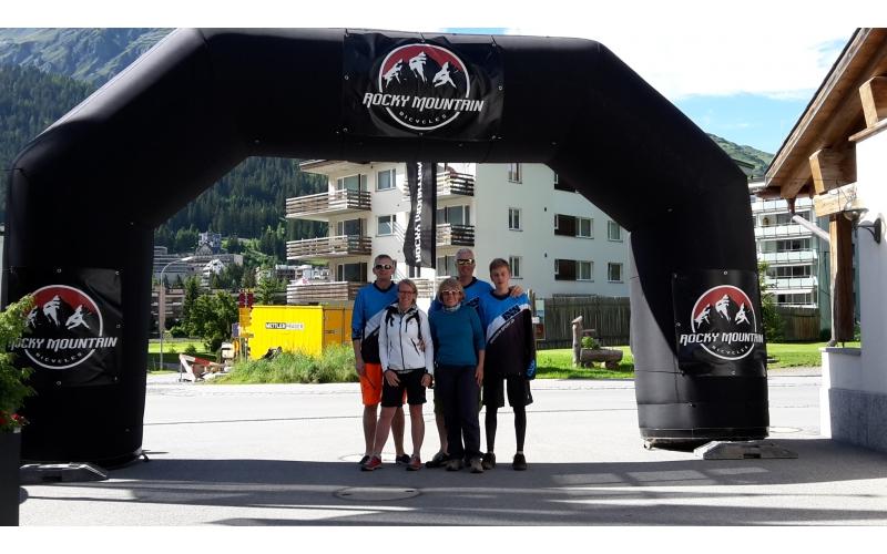 Rocky Mountain TrailRide Familie Bieri aus Solothurn
