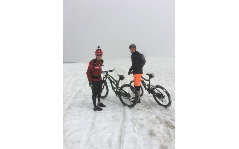 Rocky Mountain Trailride im Schnee