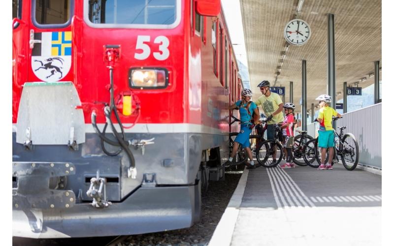 Rhetorische Bahn Biketransport