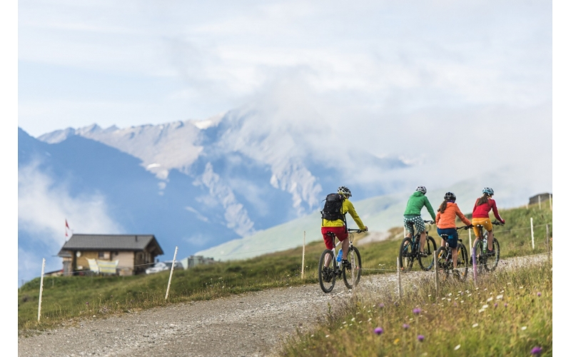 Südflucht Graubünden