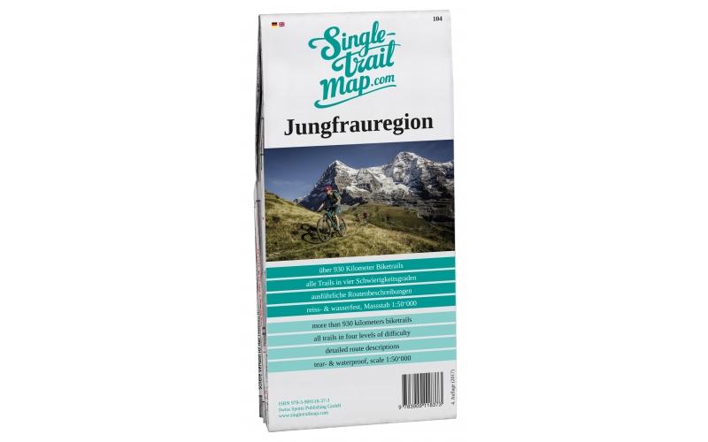 Singletrail Map 104 Jungfrauregion