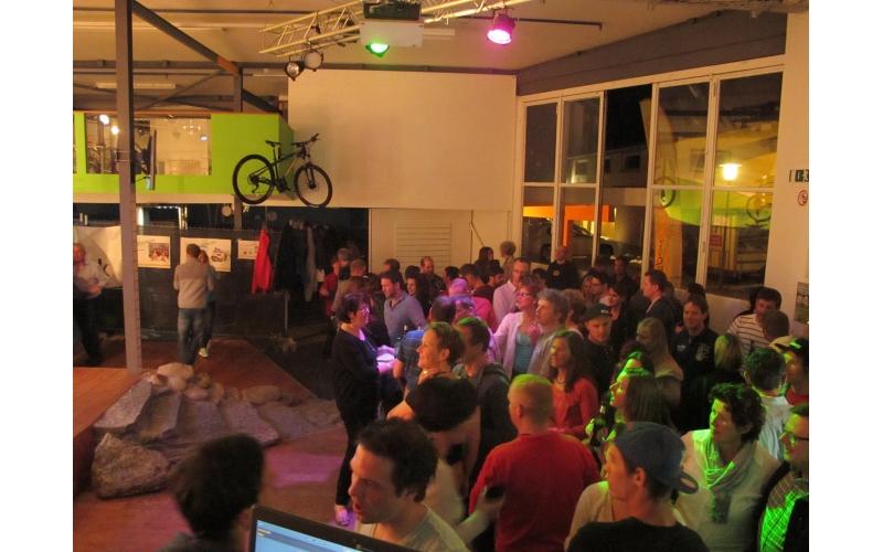 Warm up Party in der Viamala Sport Werkstatt