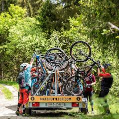 #bikeshuttlegr -  quer durch's Bike-Eldorado
