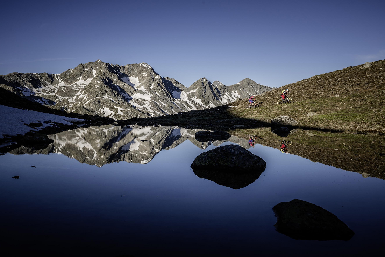 Trail vom Albulapass zur Es-cha-Hütte