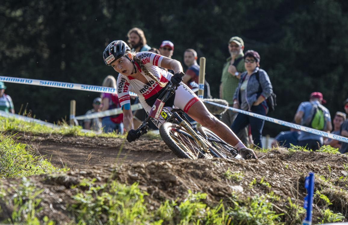 Nicole Koller wird 6. in Lenzerheide bei U23 2019
