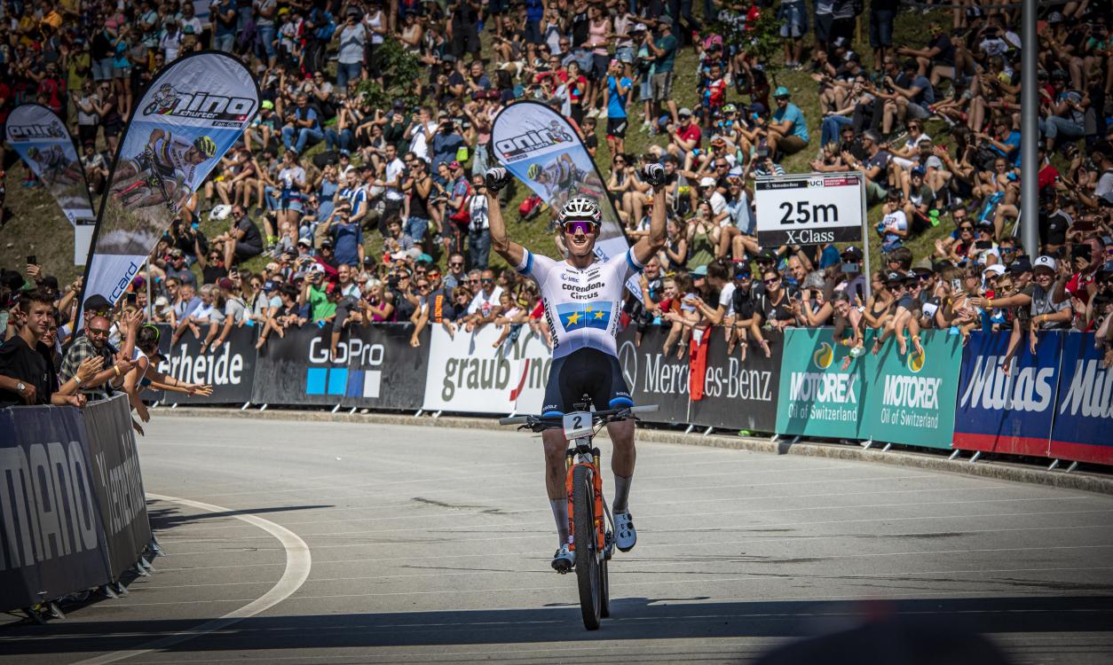 Mathieu Van der Poel gewinnt Weltcup in Lenzerheide 2019