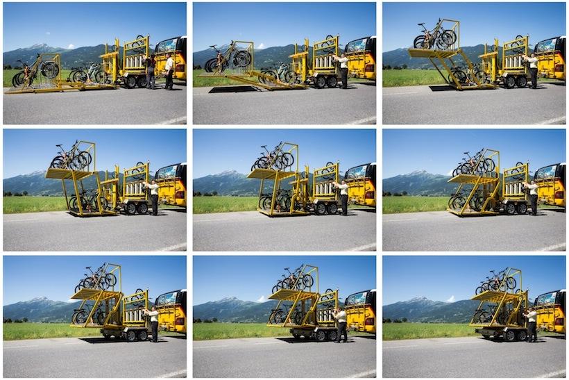 Anleitung bike porter