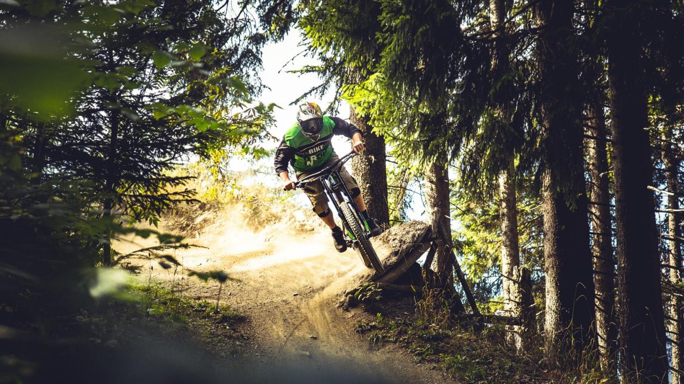 Chur Alpenbikepark Kurve