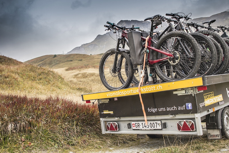 Bike-Shuttle-Trailer