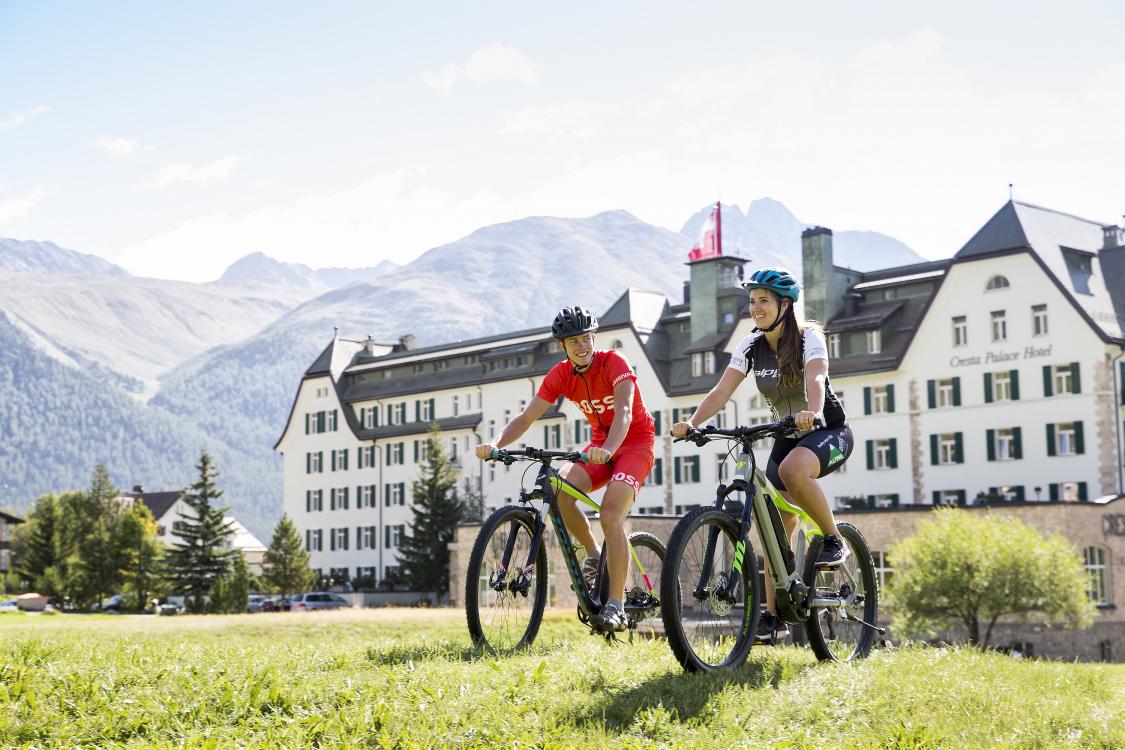 Bike In - Bike Out Cresta Palace Celerina
