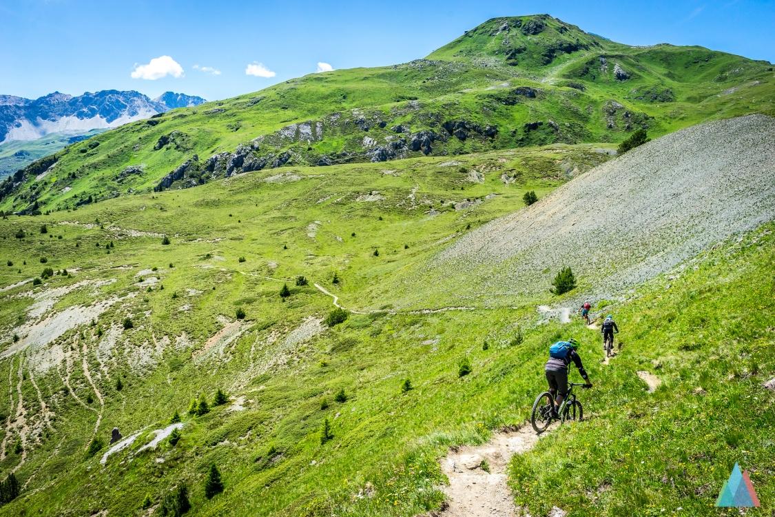 Bahnentour Arosa Lenzerheide mit Bike-Guide