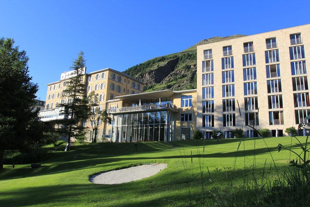 Hotel Saratz Pontresina, graubündenBIKE-Hotel