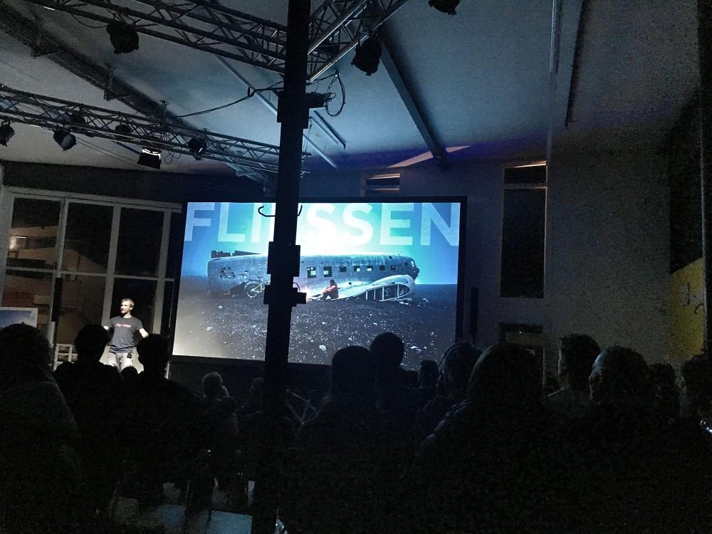 Vortrag von Harald Philipp in Sportwerkstatt Viamala in Thusis