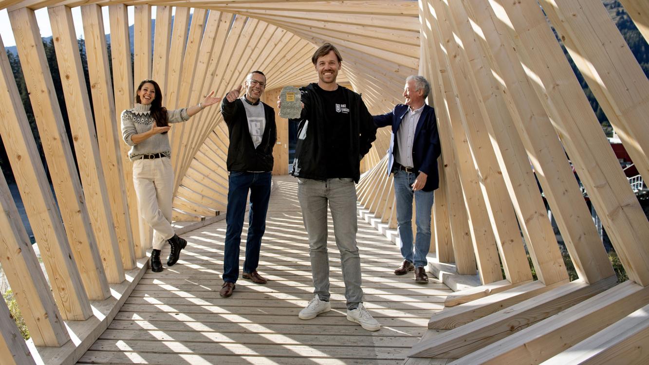 Milestone 2020: Das Team Kiki Maeder, Bruno Fläcklin, Marc Schlüssel und Gery Nievergelt
