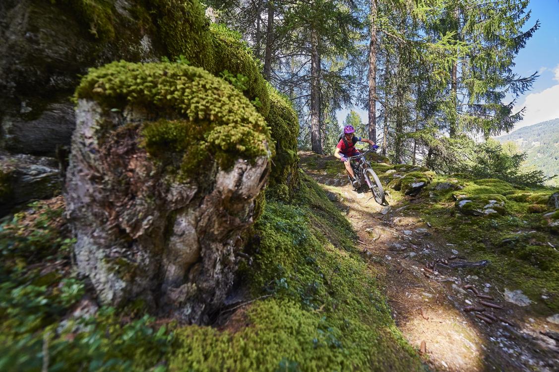 Mountainbiking, Val Müstair, Graubünden