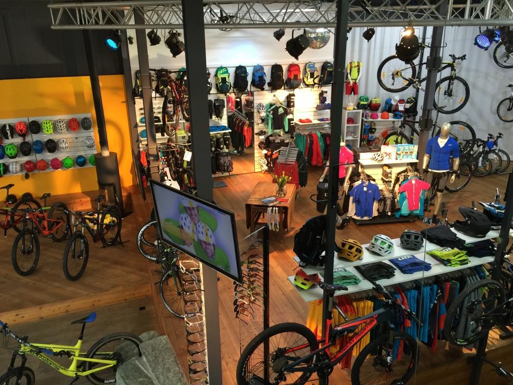 DER Bikestor mitten im Kanton Graubünden