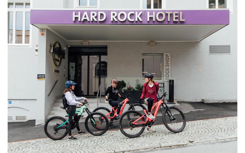 graubündenBIKE-Hotel, Hard Rock Hotel Davos