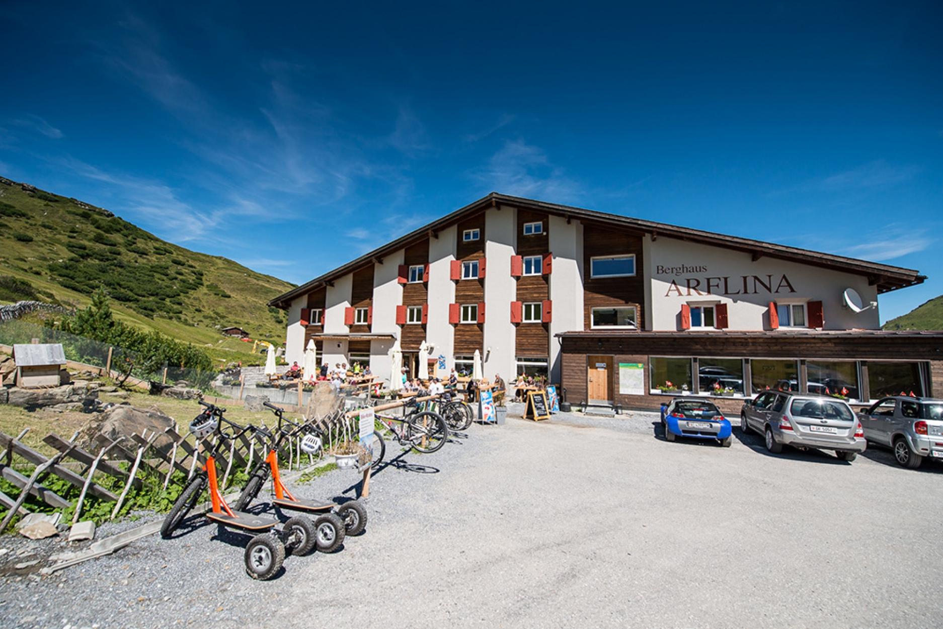 Berggasthaus Arflina Fideriser Heuberge