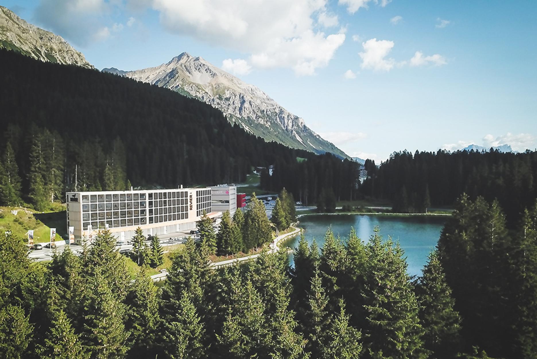Revier Mountain Lodge Lenzerheide, graubündenBIKE-Hotel