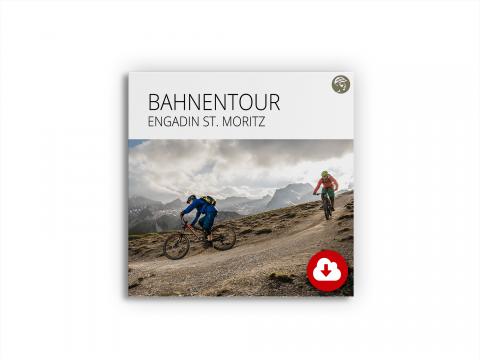 Produktbild Datenpackage Bahnentour Engadin St. Moritz
