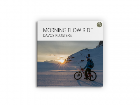 Morning Flow Ride, Davos Klosters