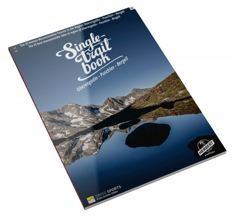 Singletrail Book, Oberengadin - Puschlav - Bergell, Cover