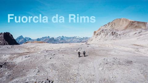 Fuorcla da Rims - Nevin Galmarini auf der härtesten Mountainbike-Tour im Unterengadin