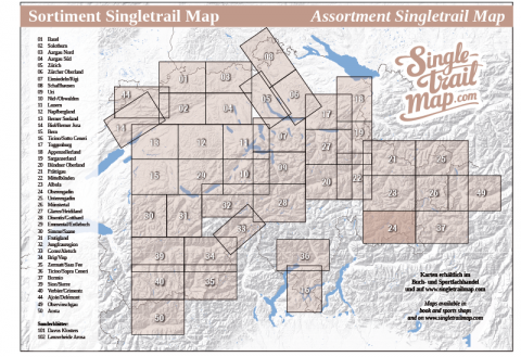 Singletrail Map 024 Sortimentsübersicht