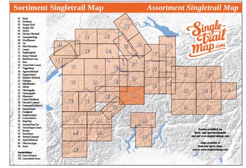 Singletrail Map 028 Sortimentsübersicht