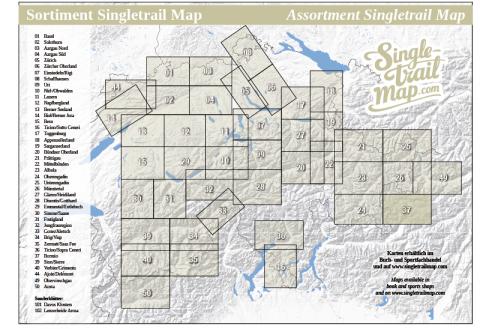 Singletrail Map 037 Sortimentsübersicht