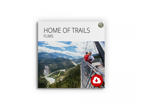 Produktbild Datenpackage Home of Trails Flims