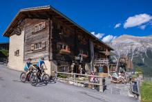 Maiensässhotel Guarda Val Lenzerheide, graubündenBIKE-Hotel