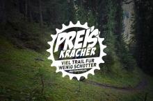 Preiskracher Davos Klosters, Arosa Lenzerheide, Samnaun, Graubünden, viel Trail für wenig Schotter