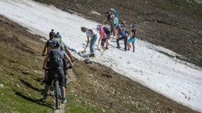 Trail-Report Schneeschaufeln