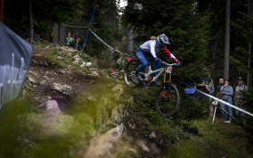 Balanche wird fünfte beim Weltcup in Lenzerheide 2021