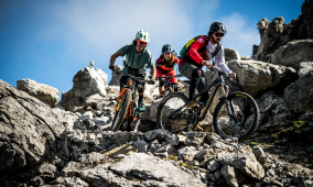 Bissige Singletrails im Bike Kingdom Arosa