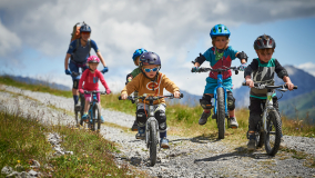 Arosa Bike School Mountainbike Schule Kinder