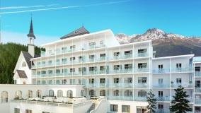 Hotel Spenglers Davos Aussenansicht