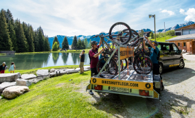 Bikeshuttle Graubünden (Viamala Sportwerkstatt)