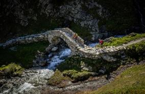 Septimerpass, Südflucht Graubünden