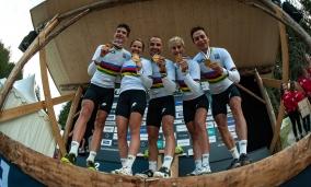 Weltmeisterschaften Lenzerheide 2018 Team Relay