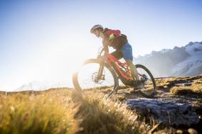 E-Bike Ride La Val, Val Müstair, Graubünden