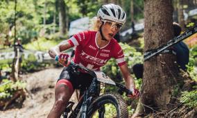 Jolanda Neff wird Zweite in Short Track in Lenzerheide 2021