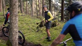 Fairtrail Graubünden: Nino Schurter als Trailrunner