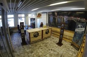 Herbert-Lounge im Bahnhof Davos Dorf