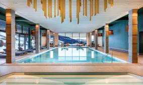 Hallenbad Hotel Sport Klosters