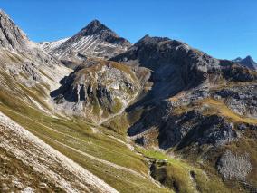 Igl Compass mit Val Zuvretta