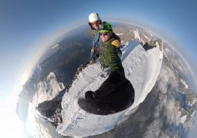 Matterhorngipfel mit Thomas Giger und Fabian Mooser