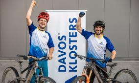 Singletrail-Weltrekord 2021 Davos Klosters
