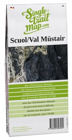 Produktbild Singletrail Map 026 Scuol/Val Müstair